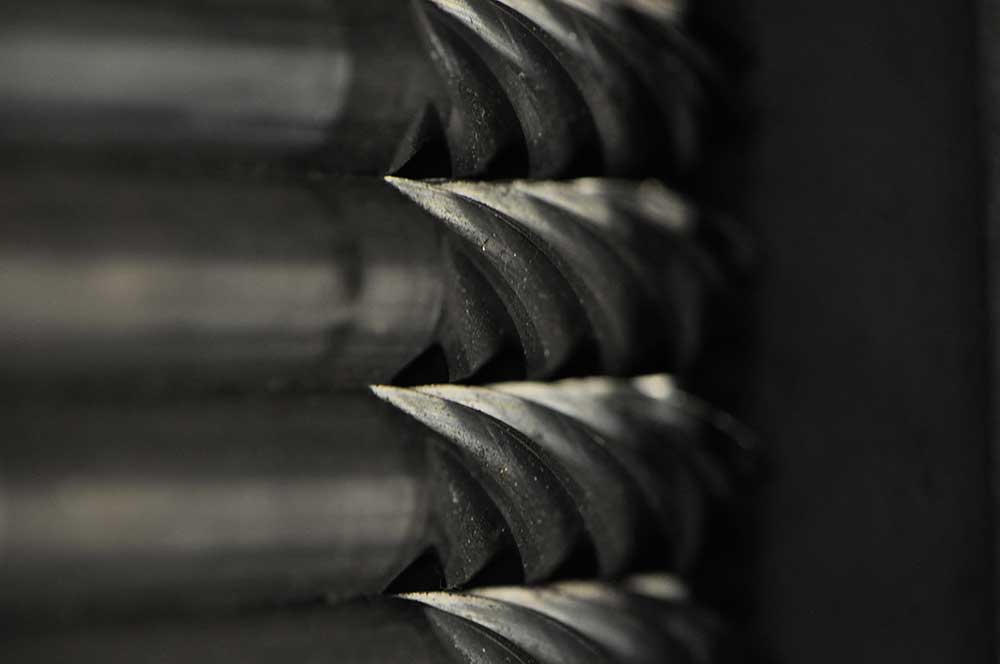 Image of CNC machining services close up - request a quote