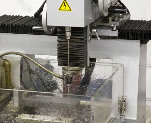 EDM Services: Hole Popping Machining at Saturn Industries in Hudson NY