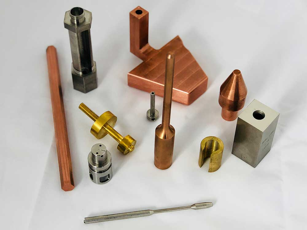 Saturn EDM produces metallic electrodes and are experts in Copper Tungsten EDM Electrodes