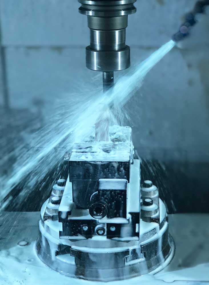 CNC Milling Service at Saturn Industries in Hudson NY