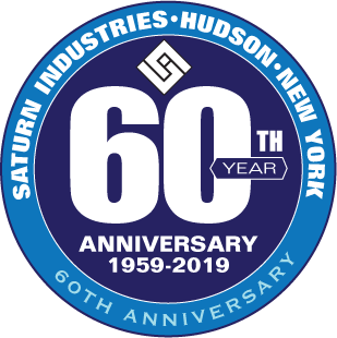 Saturn Industries celebrates its 60th anniversary logo