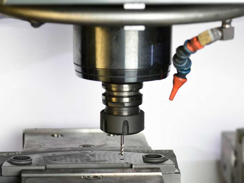 Precision CNC Milling Services at Saturn Industries in Hudson NY